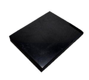 Shungite tegel gepolijst 9x12 cm