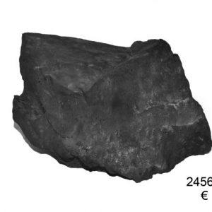 Grote Shungite steen 2456 gram