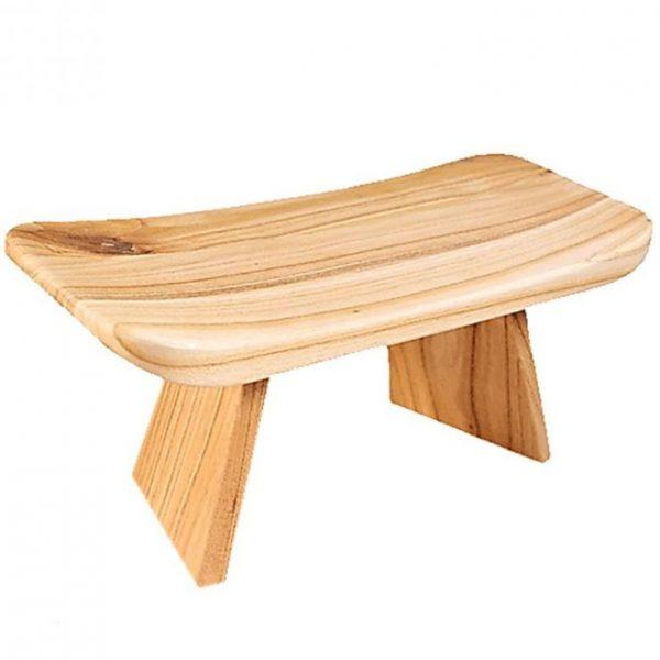 meditatiebankje ergonomisch hout